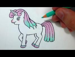 Comment dessiner une Licorne Kawaii [Tutoriel]