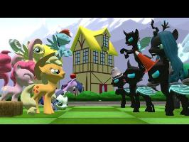 Ponies VS Changelings