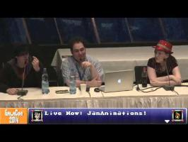 GalaCon 2014 - JanAnimations Panel (PonyvilleLive! Livestream Footage)