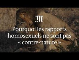 Pourquoi les rapports homosexuels ne sont pas « contre-nature »