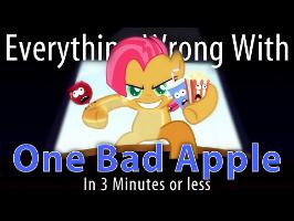 (Parody) Everything Wrong With One Bad Apple in 3 Minutes or Less