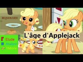 Etude Analyse Théorie : l'Âge d'Applejack - Le Coin Brony