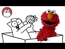 Play like a Cat - Simon's Cat & Elmo