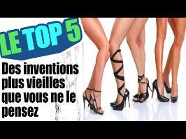Le top 5 des inventions plus vieilles que vous ne le pensez