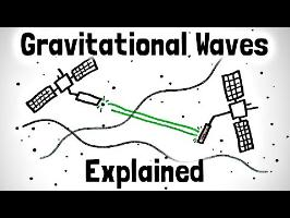Gravitational Waves Explained Using Stick Figures