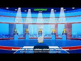 Qui sera le prochain ? – La Présidentielle vue par Greenpeace