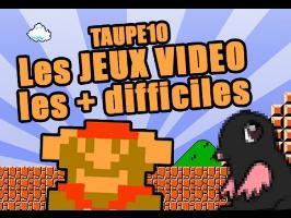 TOP 10 des JEUX VIDEO les plus difficiles