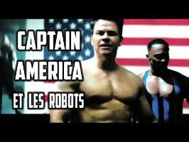 Captain America et les Robots ® mozinor
