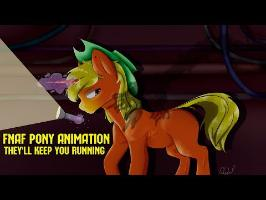 [♫] They'll Keep You Running (by CK9C) [PONY ANIMATION / FNAF SISTER LOCATION SONG]