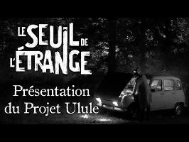 Présentation de notre ULULE pour une websérie d'horreur