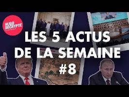 POUTINE, CORÉE DU NORD, NEUTRALITÉ DU NET... RÉSUMÉ DES 5 ACTUS DE LA SEMAINE #8