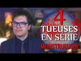 BULLE : 4 Tueuses en Série Monstrueuses