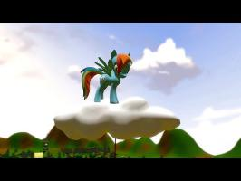 Rainbow Dash Cloud Problem