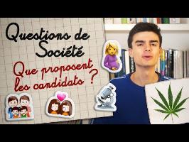 Cannabis, mariage pour tous... Que proposent les candidats ? - La présidentielle expliquée aux ados