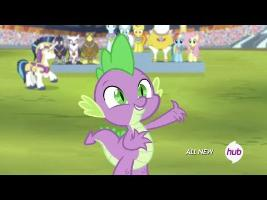 Spike Sings the National Anthem