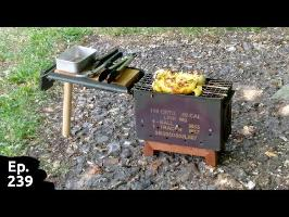 Fabrication d'un barbecue portable - partie 1/2 - Ep 239