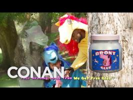 Donate Your Body To The Brony Glue Factory - CONAN on TBS