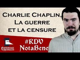 Charlie Chaplin, la guerre et la censure par Yohann From Outer Space - Montbazon 2016