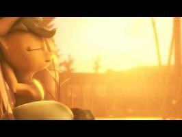 [SFM Ponies] Applejack taking a break