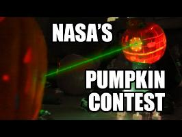 NASA Pumpkin Carving Contest- 2014 w/ LASERS!!!