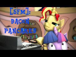 [SFM Ponies]: Bacon Pancakes