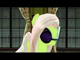 [MMDxMLP] Fluttershy Dances to Old Time Rock n Roll