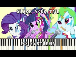 MLP:EQG - Shake Your Tail for Synthesia
