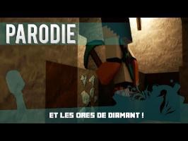MineCraft - Dynamyk | Et Les Ores De Diamant ! - Audio ( Parodie  Mistral Gagnant  - Renaud )