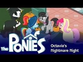 My Little Pony in the Sims - Octavia's Nightmare Night