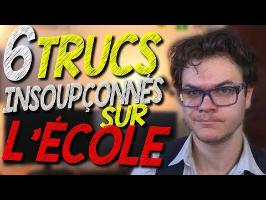 CHRIS : 6 Trucs Insoupçonnés Sur L'École