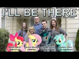 I'll Be There - Apple Bloom, Fluttershy, BlackGryph0n, Lyra