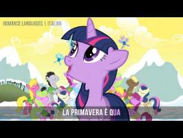 MLP:FiM - Winter Wrap Up | Multilanguage - Karaoke [HD]