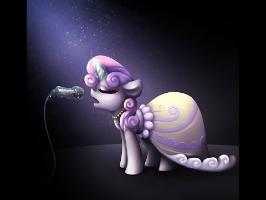Sweetie Belle Speed Paint