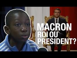 Macron : roi ou président ?
