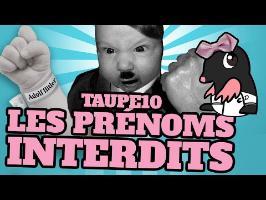 TOP 10 des PRÉNOMS INTERDITS