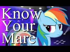 [Animation] Know Your Mare Ep. 9 (Rainbow Dash)