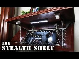 DIY Stealth Shelf Tour & Special Features - (Tutorial Coming Soon)