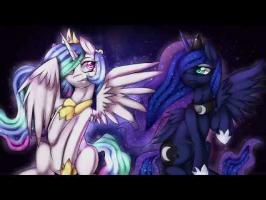 Celestia vs Luna [Epic Rap Battles Of Equestria]