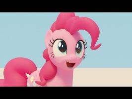 Pinkie Pie 3D Lip-Sync Animation Test