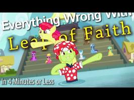 (Parody) Everything Wrong With Leap of Faith in 4 Minutes or Less