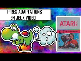 Top 5 des pires adaptations en jeux vidéo