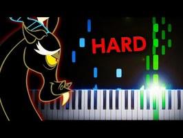 The Living Tombstone - Discord (ft. Eurobeat Brony) - Piano Tutorial