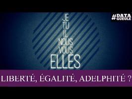 Inégalité des sexes : « Liberté, Égalité, Adelphité » #DATAGUEULE 71
