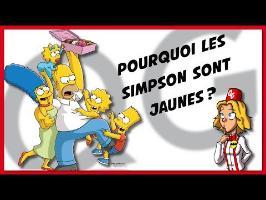 POURQUOI LES SIMPSON SONT JAUNES ? [LQG #14] #Poucesdor