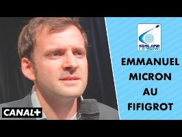 Discours de Micron à Toulouse - Groland le Zapoï du 30/09 - CANAL+