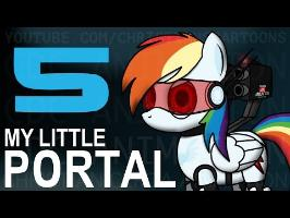 (RE-UPLOAD) My Little Portal: Episode 5 (HD)