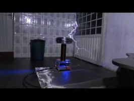 Kалинка-малинка on Musical Tesla Coil