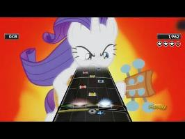 guitar hero custom of rarity shredding in anger