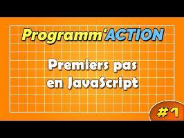 Programm'action #1 - Premiers pas en JavaScript