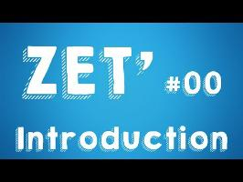 INTRODUCTION À LA ZÉTÉTIQUE - ZET' #00